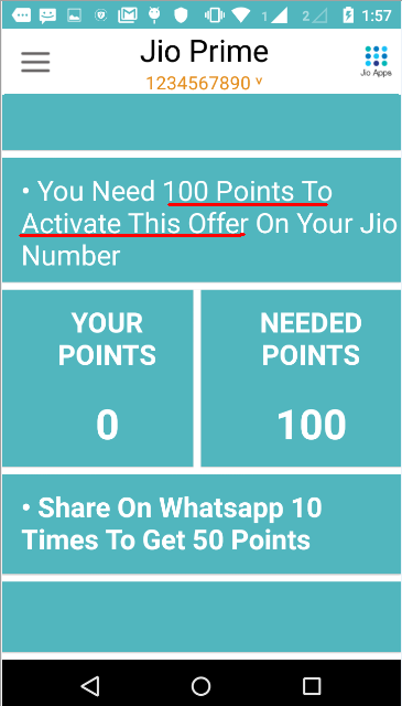 Do not fall for the WhatsApp message about Jio Prime Offer